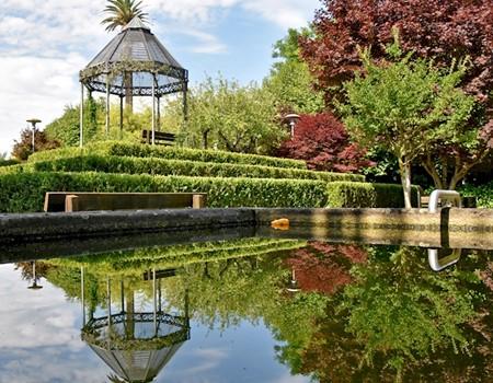 Arnado Park and Riverside Gardens of Arcozelo